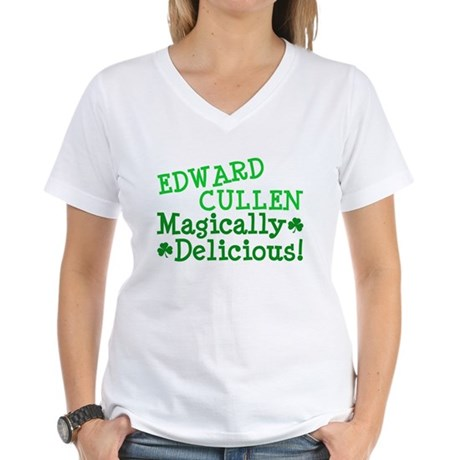 Edward Magically Delicious Women's V-Neck T-Shirt