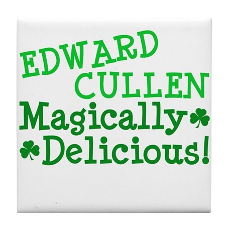 Edward Magically Delicious Tile Coaster