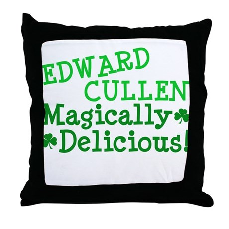 Edward Magically Delicious Throw Pillow
