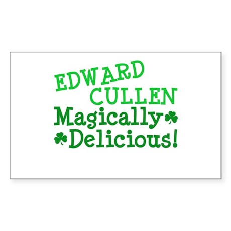 Edward Magically Delicious Rectangle Sticker