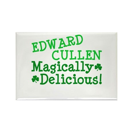 Edward Magically Delicious Rectangle Magnet (10 pa