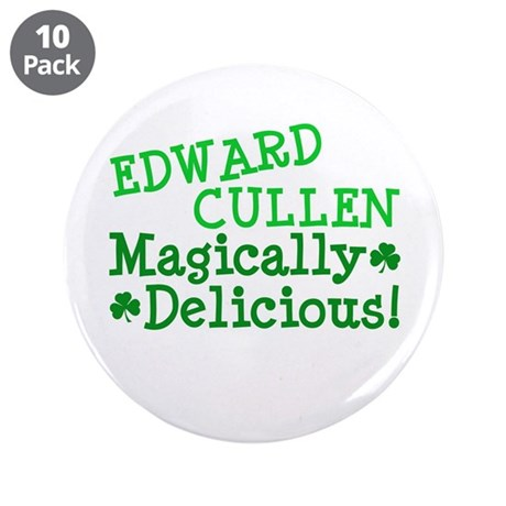 "Edward Magically Delicious 3.5"" Button (10 pack)"