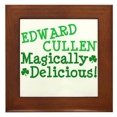 Edward Magically Delicious Framed Tile