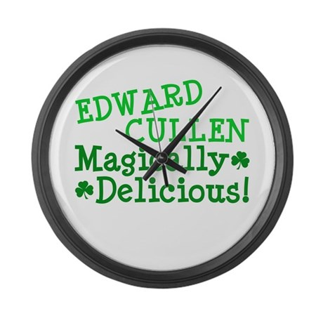 Edward Magically Delicious Large Wall Clock
