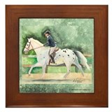 Appaloosa Sporthorse Framed Tile