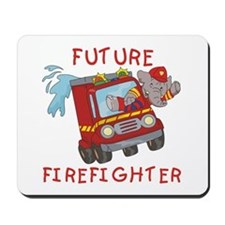 Fire Truck Future Firefighter Mousepad