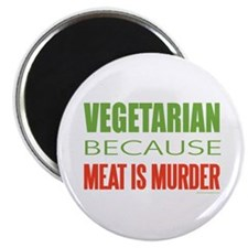 "Vegetarian 2.25"" Magnet (10 pack)"