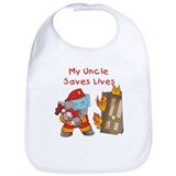 Firefighter Uncle Bib
