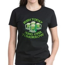 IRISH Hangover Green Beer Tee