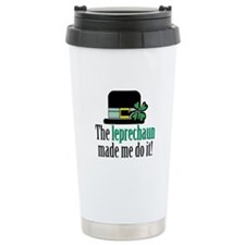 Leprechaun made me Ceramic Travel Mug