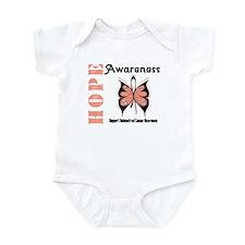 Endometrial Cancer Hope Infant Bodysuit