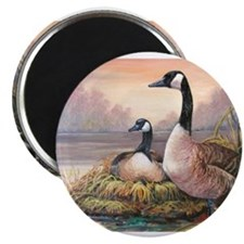 "Cute Waterfowl hunting 2.25"" Magnet (10 pack)"