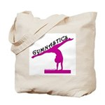 Gymnastics Tote Bag - Beam