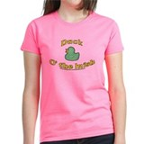 Duck o' the Irish Women's T-Shirt Mixed