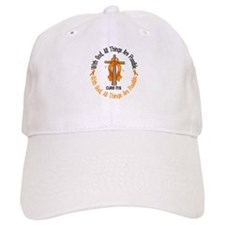 With God Cross MS Baseball Cap