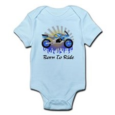Born to Ride Street Infant Bodysuit