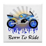 Born to Ride Street Tile Coaster