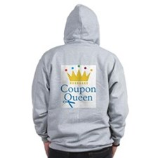 Coupon Queen Zip Hoodie