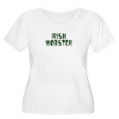 Irish Mobster Women's Plus Size Scoop Neck T-Shirt