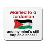 Married to a Jordanian Mousepad