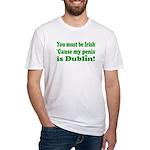Must Be Irish Penis Dublin Fitted T-Shirt