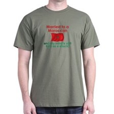 Married to a Moroccan T-Shirt
