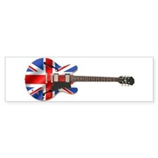 BRITISH INVASION Bumper Car Sticker