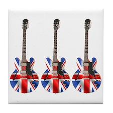 BRITISH INVASION Tile Coaster