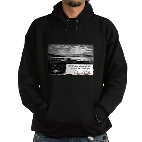Twilight quote Hoodie (dark)