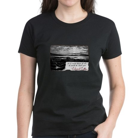 Twilight quote Women's Dark T-Shirt