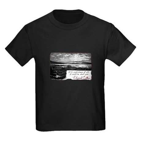 Twilight quote Kids Dark T-Shirt