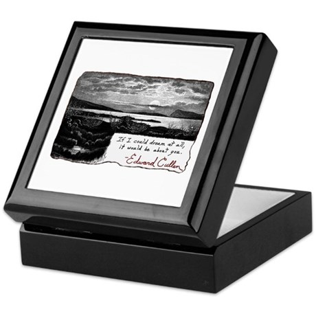 Twilight quote Keepsake Box