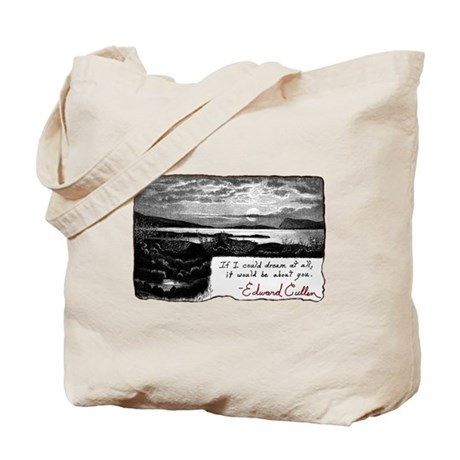 Twilight quote Tote Bag