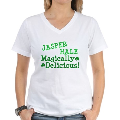 Jasper Magically Delicious Women's V-Neck T-Shirt