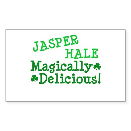 Jasper Magically Delicious Rectangle Sticker
