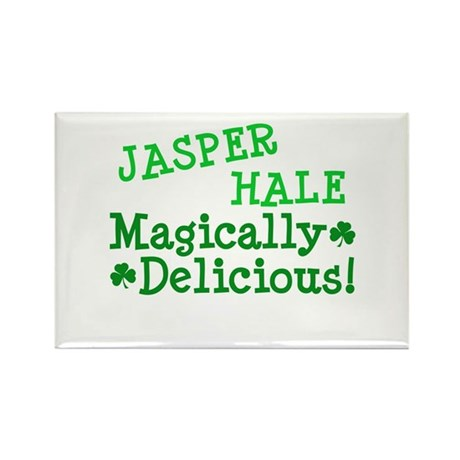 Jasper Magically Delicious Rectangle Magnet (100 p