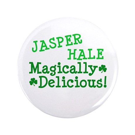 "Jasper Magically Delicious 3.5"" Button"