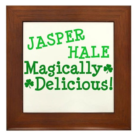 Jasper Magically Delicious Framed Tile