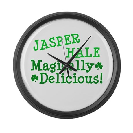 Jasper Magically Delicious Large Wall Clock