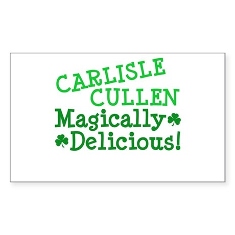 Carlisle Magically Delicious Rectangle Sticker