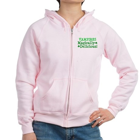 Vampires Magically Delicious Women's Zip Hoodie