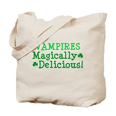 Vampires Magically Delicious Tote Bag