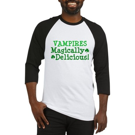 Vampires Magically Delicious Baseball Jersey