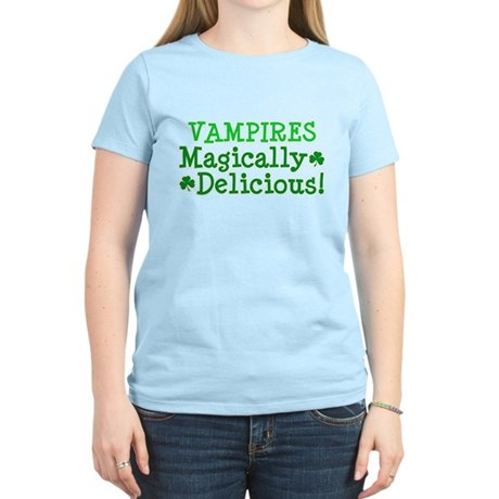 Vampires Magically Delicious Women's Light T-Shirt