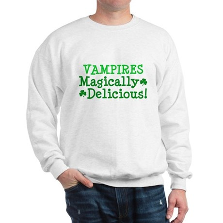 Vampires Magically Delicious Sweatshirt