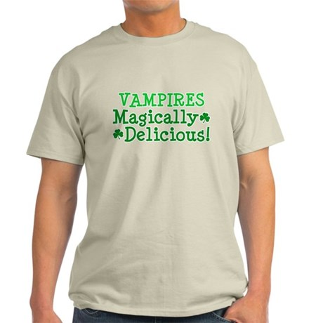 Vampires Magically Delicious Light T-Shirt