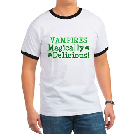 Vampires Magically Delicious Ringer T