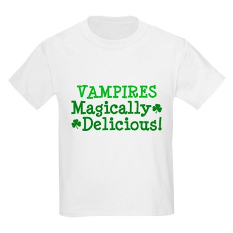 Vampires Magically Delicious Kids Light T-Shirt