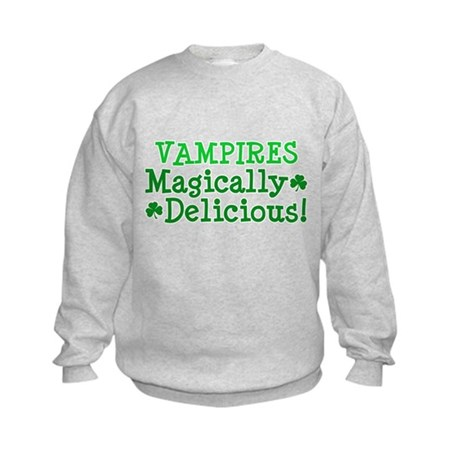 Vampires Magically Delicious Kids Sweatshirt