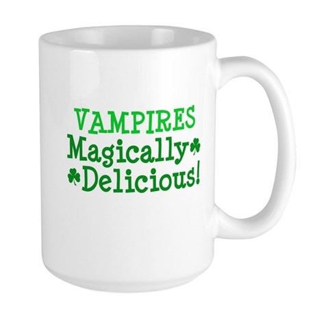 Vampires Magically Delicious Large Mug